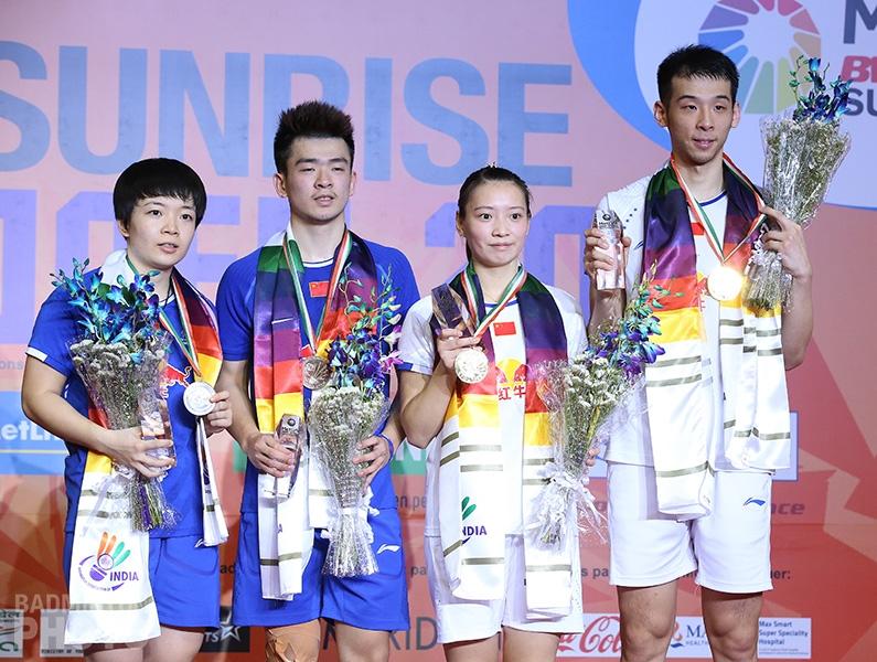 Chen Qingchen / Zheng Siwei (left), Huang Yaqiong / Lu Kai