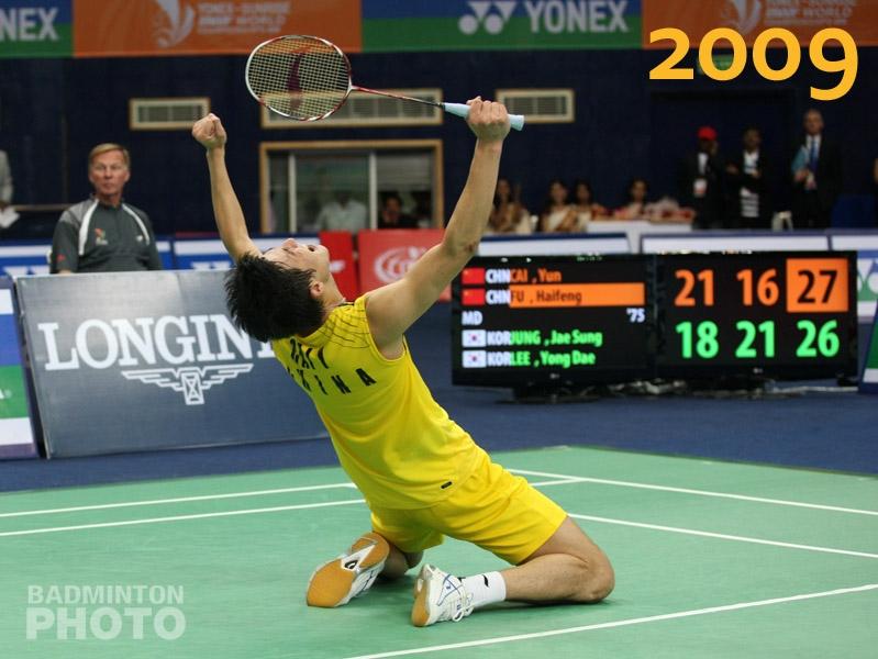 Cai Yun - WorldChampionships2009