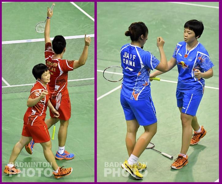 FrenchOpen2016 Doubles Double-Chen Qingchen