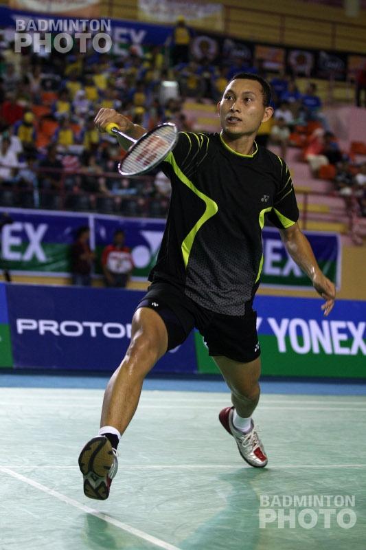 Sony Dwi Kuncoro at the 2008 Badminton Asia Championships