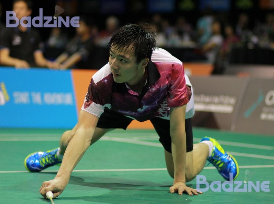 Wang Tzu Wei at the 2014 New Zealand Open