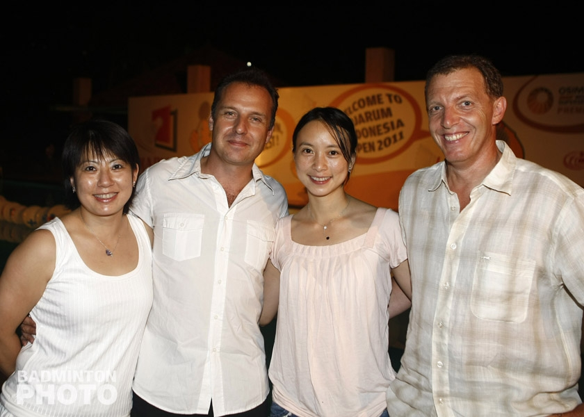 Welcome Dinner at the 2011 Indonesia Open