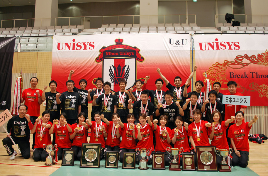 Unisys sweeps japan league titles unisys women back to no stopboris Image collections