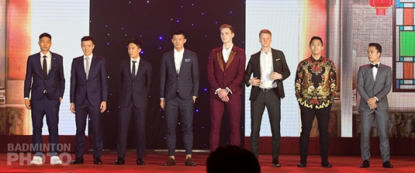 2019 World Tour Finals Players\' Gala - Men\'s Singles participants