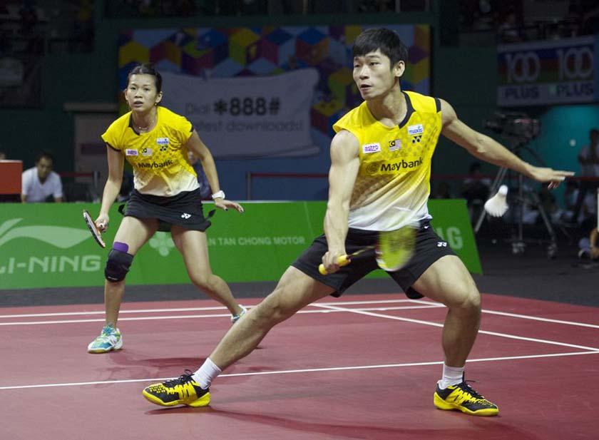 scott evans badminton