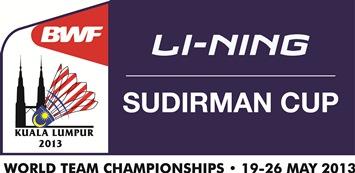 SUDIRMAN CUP 2013 LOGO FA