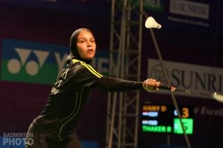 Doha Hany at the 2019 India Open
