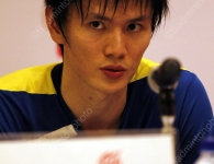 Bao Chunlai at the press conference