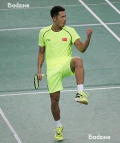 Lin Dan at the 2014 Asian Games