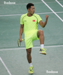 Lin Dan at the 2014 Asian Games