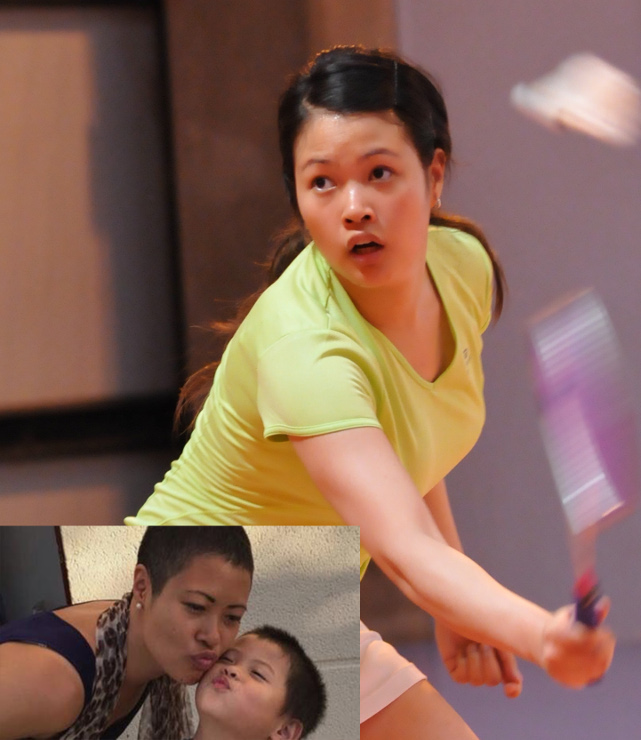 Badminton community mobilizes for player struck by breast cancer