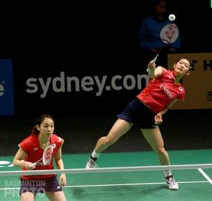 Misaki Matsutomo / Ayaka Takahashi (JPN) at the 2015 Australian Open