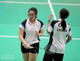 Crystal Lai at the 2018 World Junior Championships