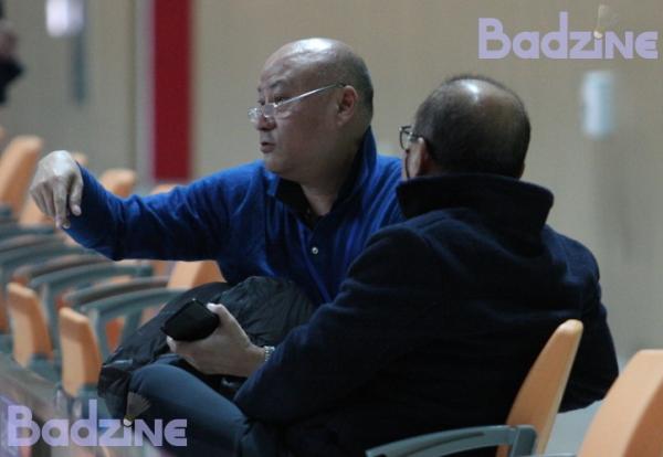 Li Mao and Kim Joong Soo