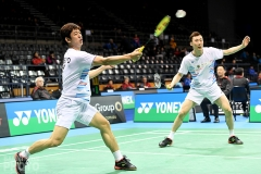 Lee Yong Dae and Yoo Yeon Seong at the 2019 Australian Open