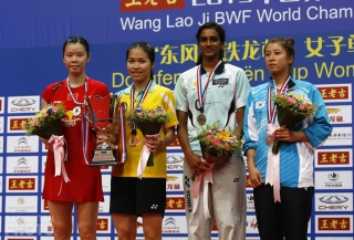Podium Womens Singles-25-WorldChampionships2013