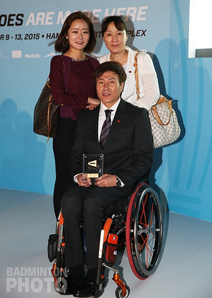 Lee Sam Seop at the 2015 Dubai Gala Dinner