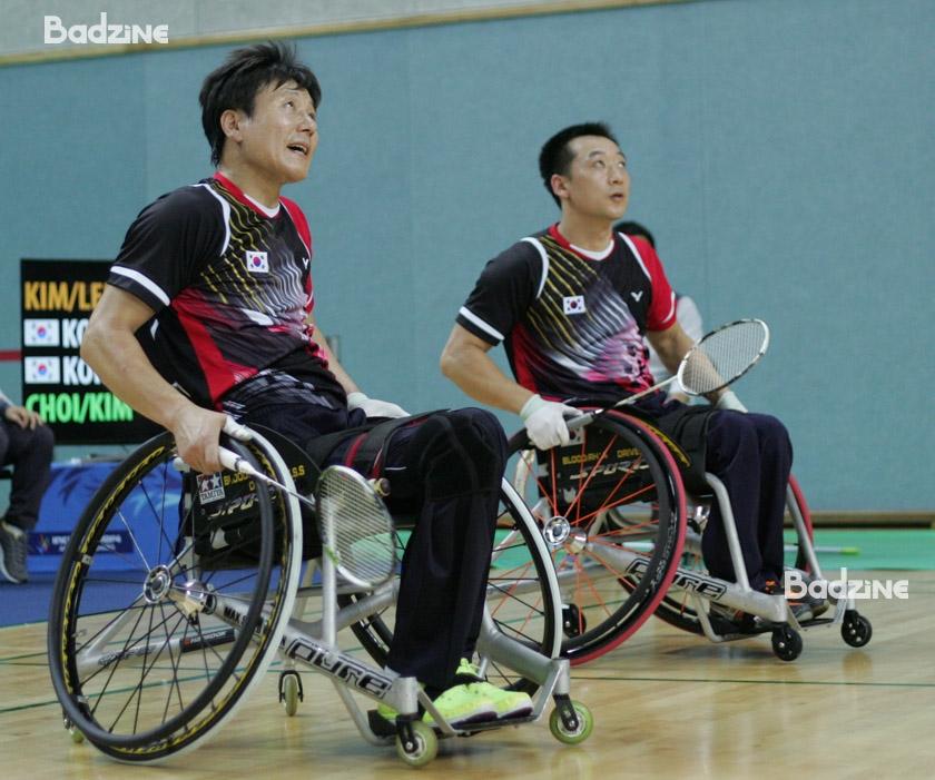 Lee Sam Seop / Kim Kyung Hoon at the 2014 Incheon Asian Para Games