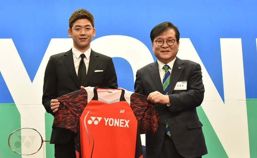 Lee Yong Dae with Kim Chul Woong