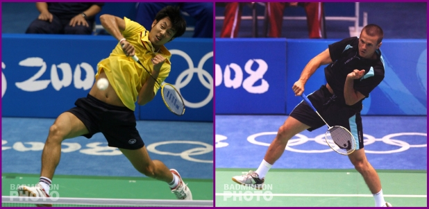 Boonsak Ponsana and Robert Mateusiak in their 3rd of 5 Olympic appearances - Beijing 2008