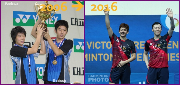 Lee and a Yoo on the Podium - 2006 to 2016