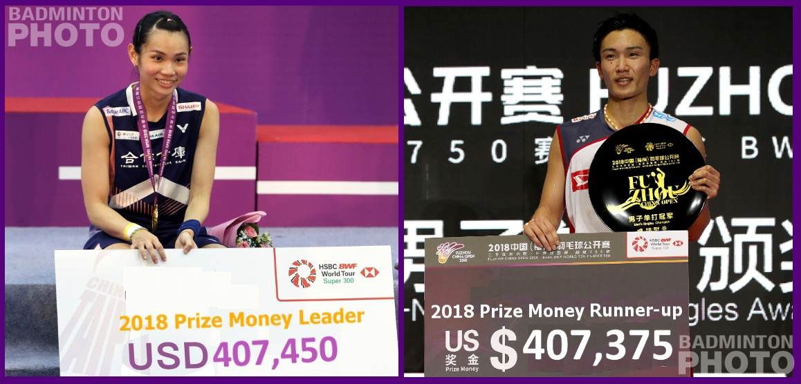 Tai and Momota Prize Money leaders 2018_rotator
