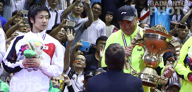 Only China and Indonesia have a complete collection of world badminton team championship cups but as favourites at this year's Sudirman Cup, can Japan finally join this most exclusive of […]