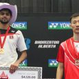 Canadian Michelle Li wins a third consecutive Canada Open while the first three finals went to first-time Grand Prix title winners, including Sai Praneeth, who beat former world #1 Lee […]