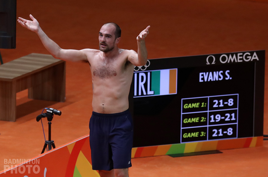 """Ireland's Scott Evans has announced that he is retiring from international badminton. His last event will be the European Men's Team Championship in Kazan, Russia next week. """"After 15 years […]"""