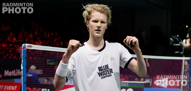 Already having emerged on the European circuit last year, Anders Antonsen is making a name for himself on the highest international level, pleasing the home crowd with a victory against […]