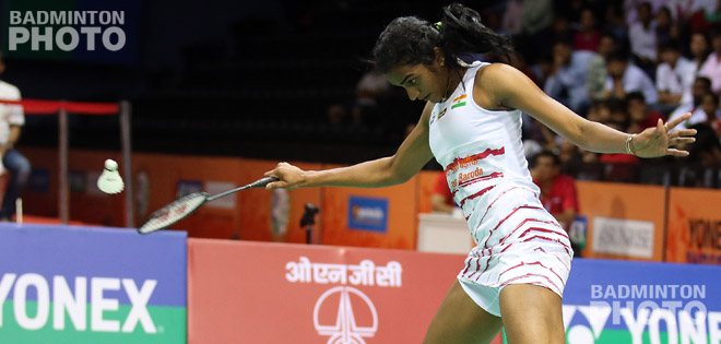 India's Pusarla Venkata Sindhu is into her first final of her home Superseries event, after withstanding a late charge from Korea's Sung Ji Hyun. By Don Hearn. Photos: Mikael Ropars […]