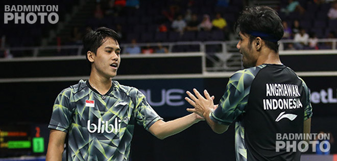 Indonesia's Hardianto helped score the first of four wins that produced first time Superseries semi-finalists at the expense of top seeds as he and Berry Angriawan downed Olympic silver medallists […]