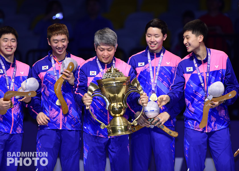 In one of the more obscure aspects to Korea's historic win at the 2017 Sudirman Cup, Kim Won Ho became the first second generation winner of the prestigious trophy. Photos: […]