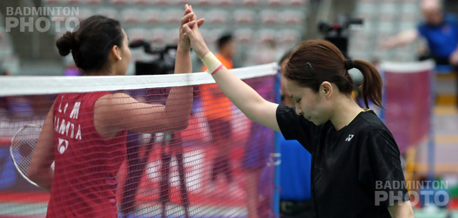 Commonwealth Games gold medallists Michelle Li and Kashyap Parupalli both suffered early upsets at the Canada Open at the hands of talented challengers from Japan. By Don Hearn. Photos: Yves […]