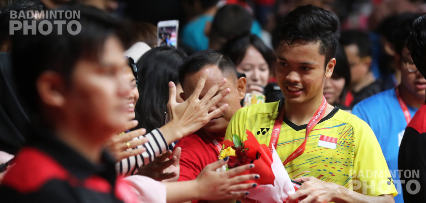 Anthony Ginting won his first title on home soil, winning the men's singles crown at the 2018 Indonesia Masters. By Don Hearn. Photos: Badmintonphoto (live) It was just last September […]