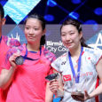 Japan and Denmark both re-wrote history today as Yuta Watanabe and Arisa Higashino became the first Japanese to win the All England mixed doubles title while Denmark grabbed their first  women's doubles title since 1967 thanks to Kamilla Rytter Juhl and Christinna Pedersen.