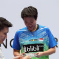 Malaysian duo Goh Soon Huat / Shevon Jemie Lai stunned Olympic and four-time Singapore Open champions Tontowi Ahmad / Lilyana Natsir to win their first Super 500 title, while Japan […]