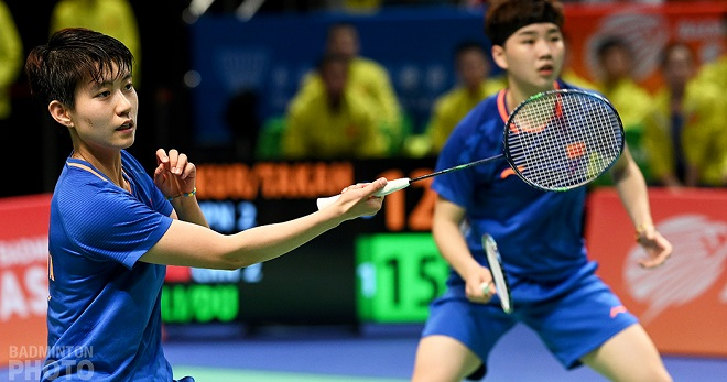 Du Yue contributed to two wins and Han Yue brought in one as China edged Japan 3-2 to take the second Asian Mixed Team Championship title. By Don Hearn. Photos: […]