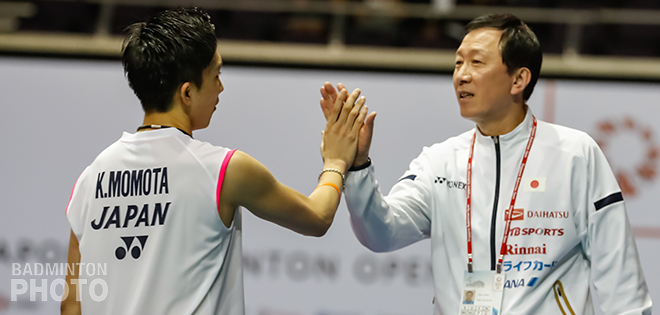 World champion and world #1 Kento Momota cruised his way through to the finals after beating Viktor Axelsen, 21-15, 21-18. Japan has successfully sent finalists in all events save for […]