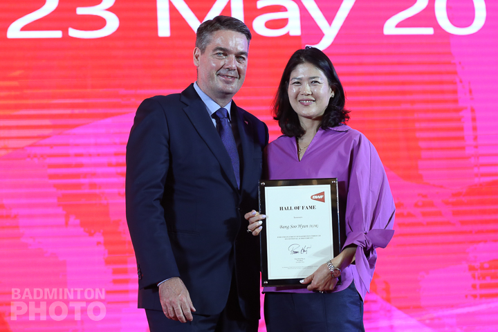 Former Korean singles star Bang Soo Hyun was inducted into the badminton Hall of Fame on Thursday, at a gala dinner attached to the BWF Annual General Meeting. Photos: Mark […]