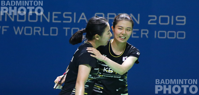 Indonesia's last hope in women's doubles, Greysia Polii / Apriani Rahayu could not make their way into the quarter–final after beaten by unseeded players from Korea, Kim So Yeong / […]