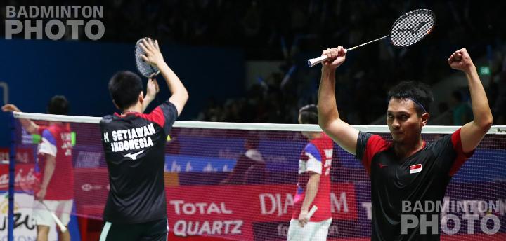 Hendra Setiawan / Mohammad Ahsan secured a spot in semi-final after a thrilling match against Japan's Hiroyuki Endo / Yuta Watanabe. Story: Nadhira Rahmani, Badzine Correspondent live in Jakarta Photos: […]