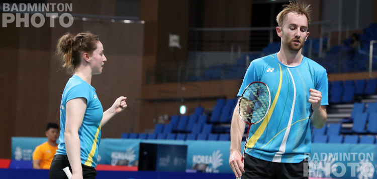 Ireland's Chloe and Sam Magee beat Ou/Zheng in straight games to take their place in the mixed doubles second round at the Korea Open, along with 3 other European pairs […]