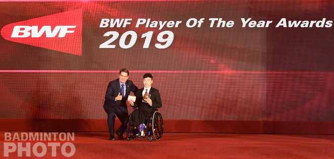 Qu Zimo became the first Chinese shuttler to be named Para-Badminton Player of the Year, while Huang Yaqiong took Female Player of the Year honours for the second year running, […]