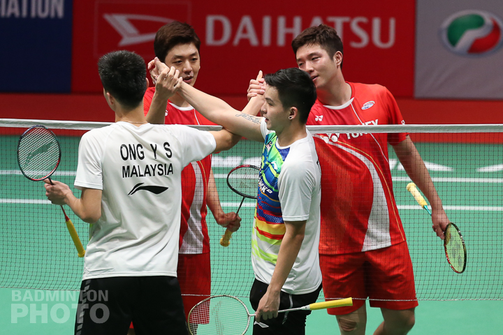 Teo/Ong, vying to be the 3rd Malaysians in the semi-finals of the Malaysia Masters, were stopped by Kim Gi Jung and Lee Yong Dae, who will be in their first […]