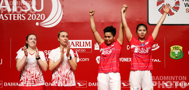 What a delightful day for Indonesia where their aces Greysia Polii / Apriyani Rahayu finally got a women's doubles title at home, to go with Sukamuljo & Gideon's Indonesia Masters […]