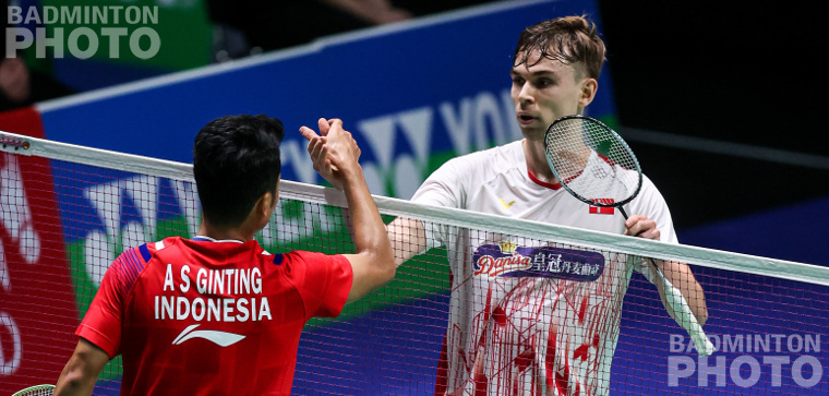 Unexpectedly the Indonesian heirs Jonatan Christie and Anthony Ginting were both sent packing in straight games while the Adcocks, the crowd's huge favourite in mixed doubles, also suffered an early […]