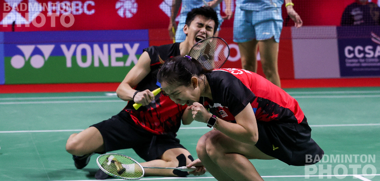 Mixed doubles again produced the biggest upsets of the day but this time it was Malaysia's Hoo/Cheah and India's Rankireddy/Ponnappa punching above their weight. By Don Hearn. Photos: Badmintonphoto (live) […]