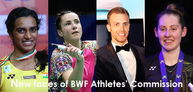 The players have given their votes to four new members of the BWF Athletes' commission thisWednesday in Gold Coast during the BWF Sudirman Cup: 3 womenand 1 man; 3 Europeans […]