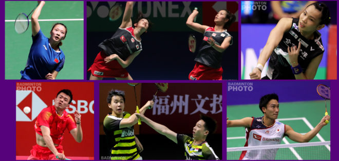 The BWF made the obvious choices for 2018 Player of the Year candidates, naming the big winners in all five categories, including mixed doubles World Champions Huang Yaqiong and Zheng […]